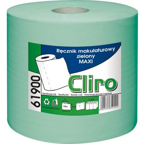 RĘCZNIK CLIRO MAXI 1 WARSTWOWY ZIELONY 61900