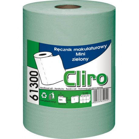 RĘCZNIK CLIRO MINI 1 WARSTWOWY ZIELONY 61300